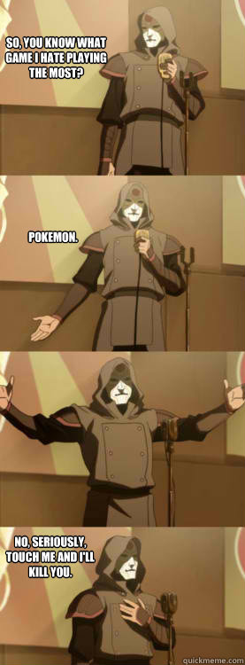 so you know what game i hate playing the most pokemon no - Comedy Amon