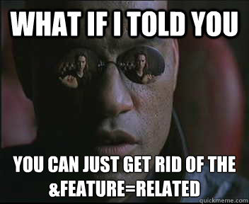 what if i told you you can just get rid of the featurerela - Morpheus SC
