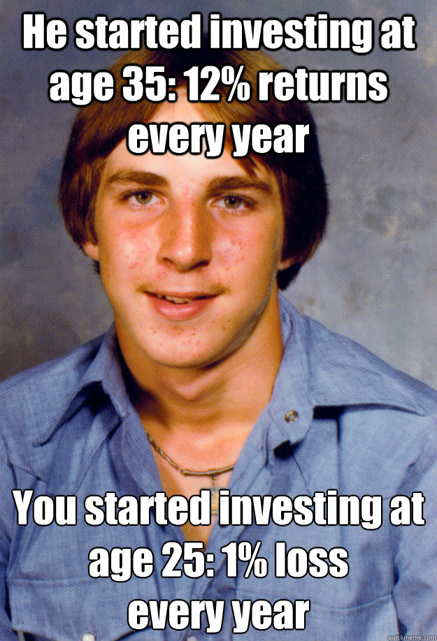 he started investing at age 35 12 returns every year you s - Old Economy Steven