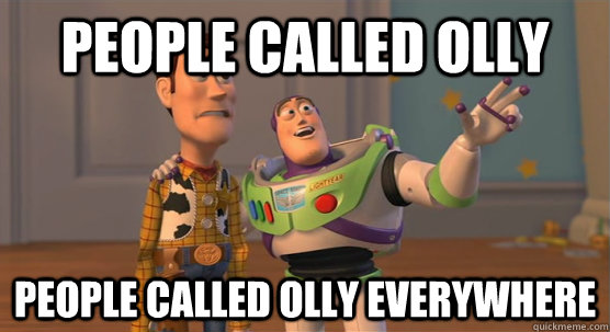 people called olly people called olly everywhere - Toy Story Everywhere