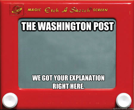 the washington post we got your explanation right here - Good Guy Etch A Sketch