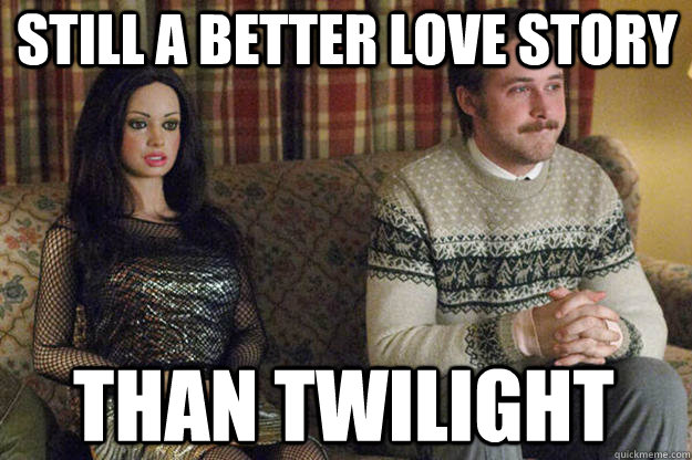 still a better love story than twilight - Love this movie