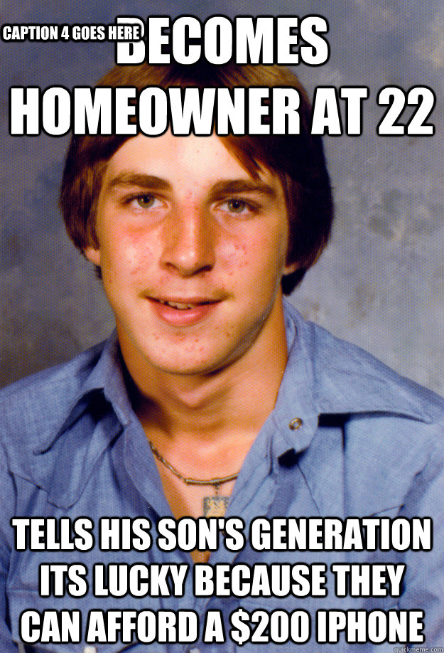 becomes homeowner at 22 tells his sons generation its lucky - Old Economy Steven