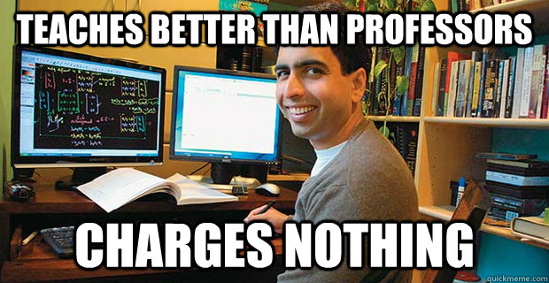 teaches better than professors charges nothing - Good Guy Khan