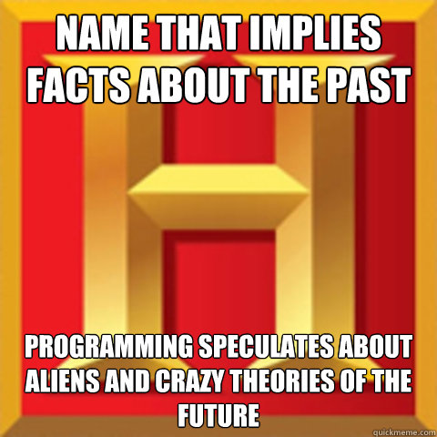 name that implies facts about the past programming speculate -