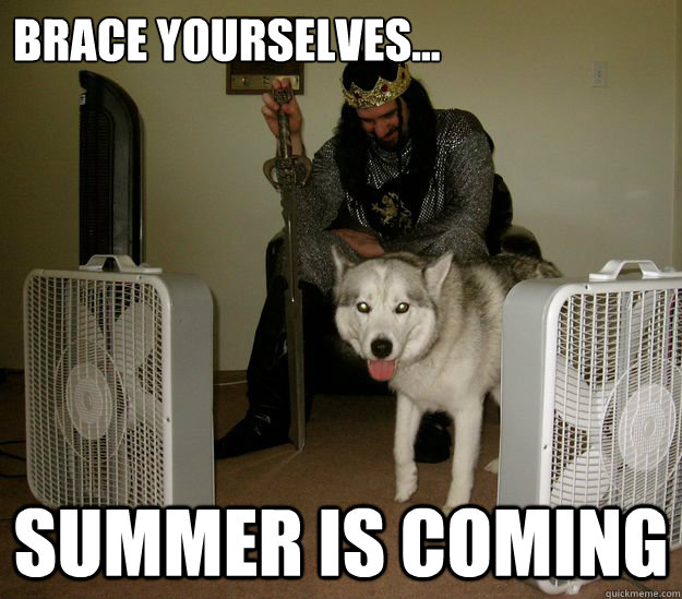 brace yourselves summer is coming - Summer is Coming