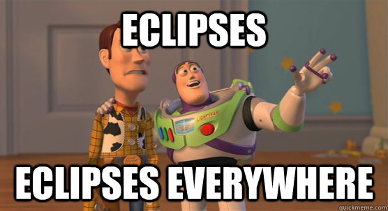 eclipses eclipses everywhere - Toy Story Everywhere