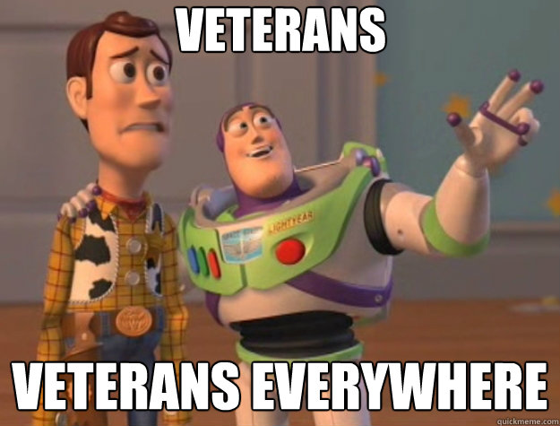veterans veterans everywhere - Toy Story