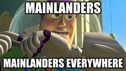 mainlanders mainlanders everywhere - Buzz Lightyear
