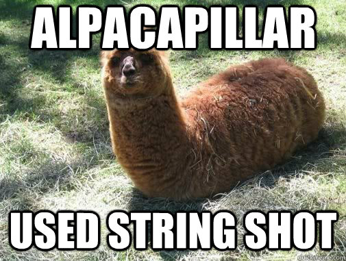 alpacapillar used string shot - Alpacapillar