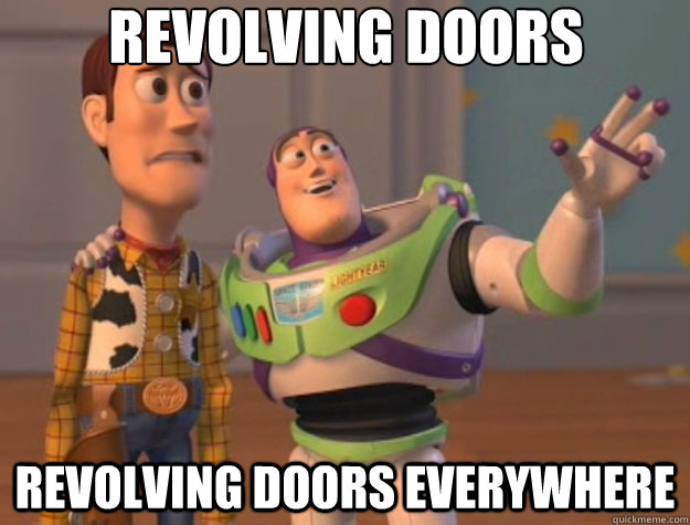 revolving doors revolving doors everywhere - Toy Story