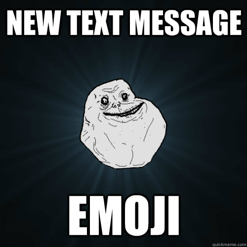 Funny Meme Faces Text : New text message emoji forever alone quickmeme