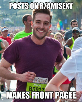 posts on ramisexy makes front pagee - Ridiculously photogenic guy