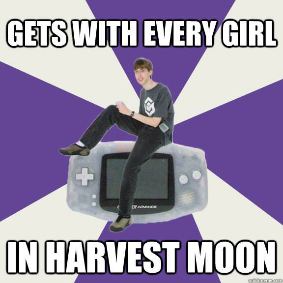 gets with every girl in harvest moon - Nintendo Norm