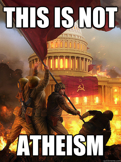 this is not atheism - this is not atheism