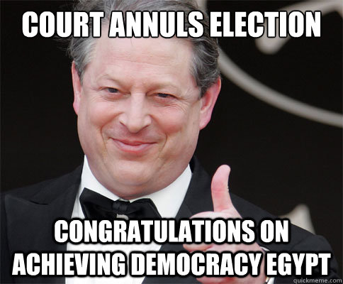 court annuls election congratulations on achieving democracy - Congrats From Al Gore
