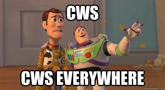cws cws everywhere - Toy Story Everywhere