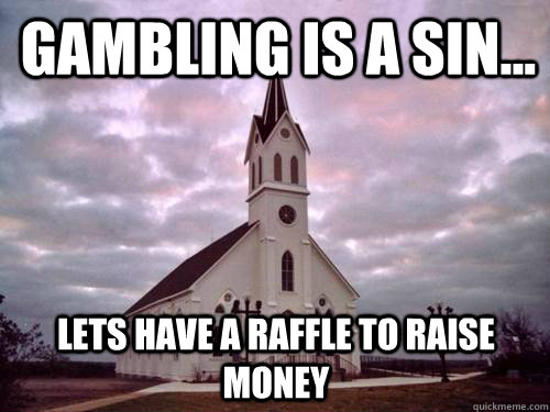 Catholic church teaching gambling