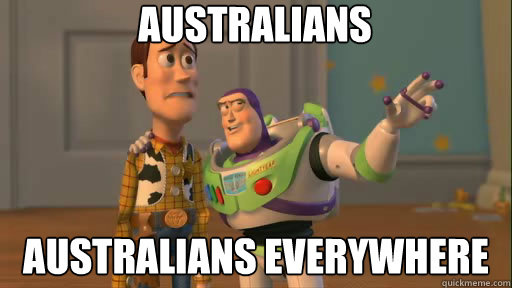 australians australians everywhere - Everywhere