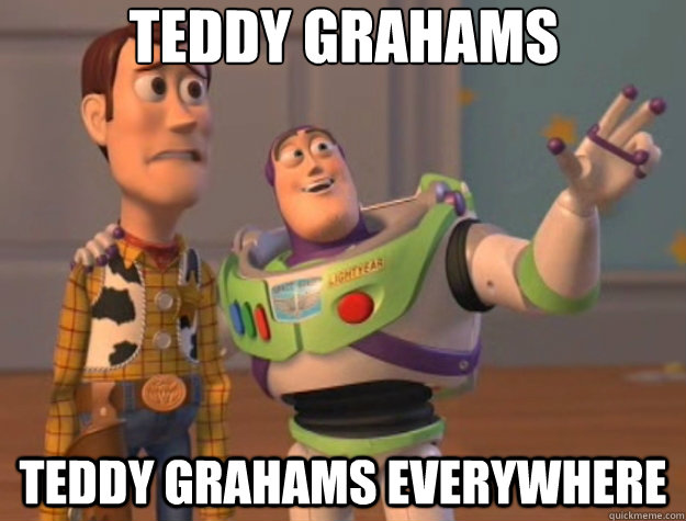 teddy grahams teddy grahams everywhere - Toy Story