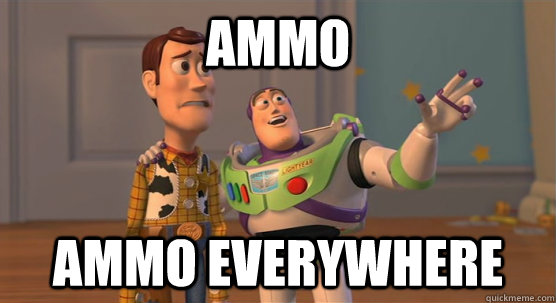 ammo ammo everywhere - Toy Story Everywhere