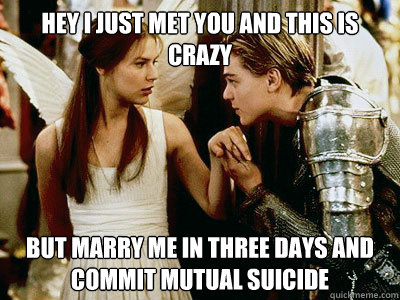 hey i just met you and this is crazy but marry me in three d - Romeo Call Me Maybe