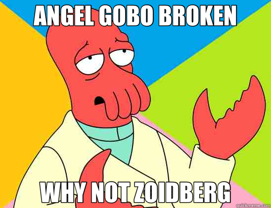 ANGEL GOBO BROKEN WHY NOT ZOIDBERG - Futurama Zoidberg