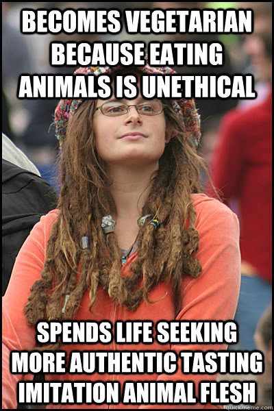 becomes vegetarian because eating animals is unethical spend - College Liberal
