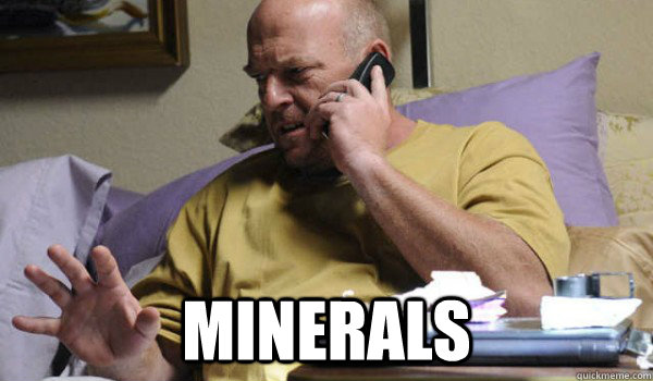 minerals - Hank