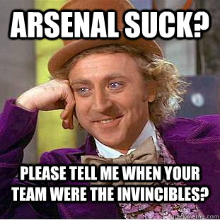 Arsenal Suck 121
