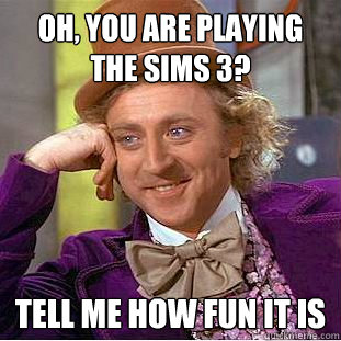 The SIMS 3 by Wonka