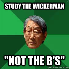 study the wickerman not the bs - Asian Dad