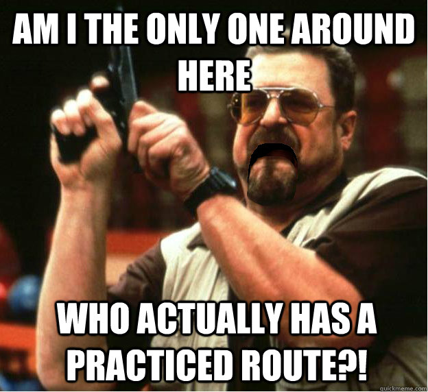 am i the only one around here who actually has a practiced r - Am I The Only One