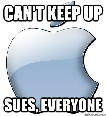 cant keep up sues everyone - Bad Apple