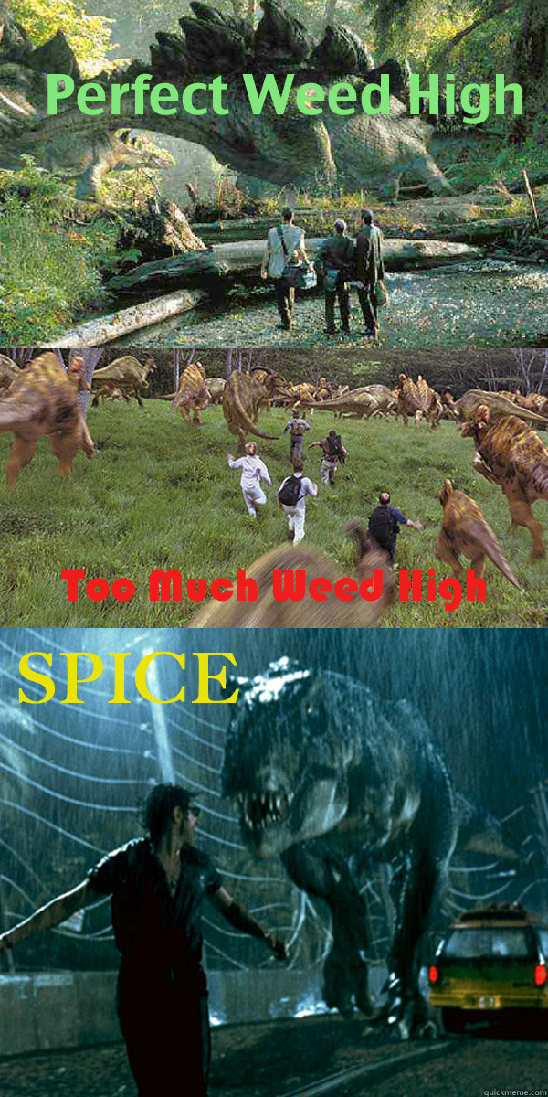60 - The Jurassic difference between Weed and Spice