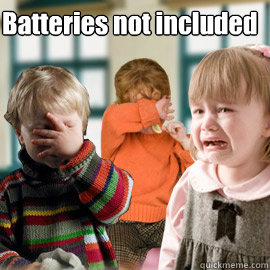 batteries not included - All Hope is Gone