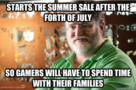 starts the summer sale after the forth of july so gamers wil - Good Guy Gabe