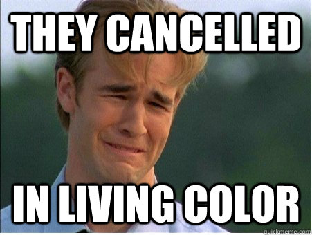 they cancelled in living color - 1990s Problems