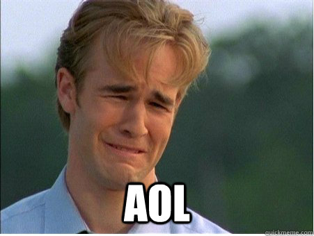 aol - 1990s Problems