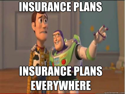 insurance plans insurance plans everywhere - woody and buzz