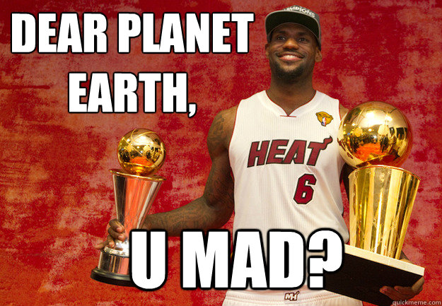 dear planet earth u mad - U Mad haters