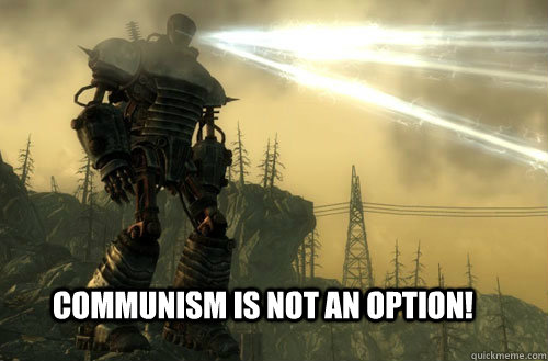 communism is not an option - best Murica, Fuck Ya moment