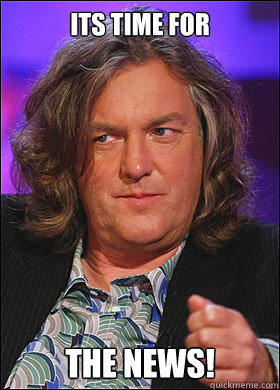 its time for the news - Boring James May