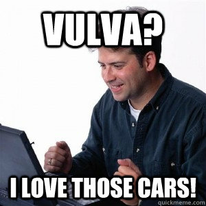vulva i love those cars - Lonely Computer Guy