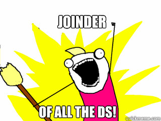 joinder of all the ds - All The Things