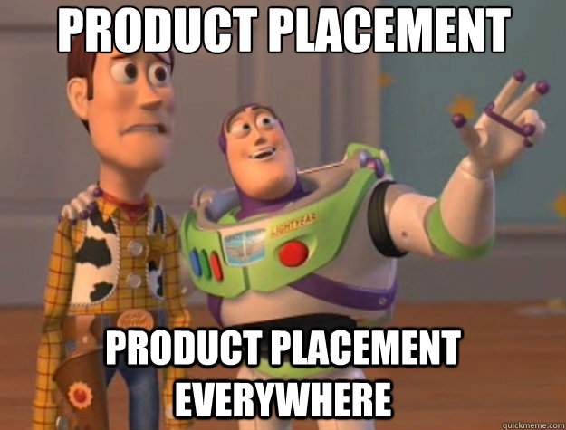 product placement product placement everywhere - Toy Story