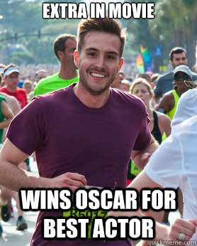 extra in movie wins oscar for best actor - Ridiculously photogenic guy