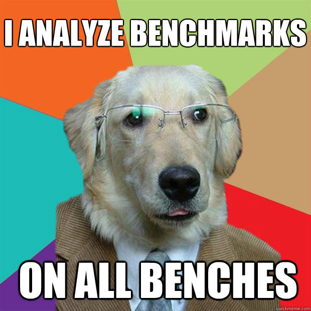 i analyze benchmarks on all benches - Business Dog