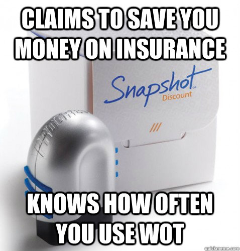 claims to save you money on insurance knows how often you us - snapshot