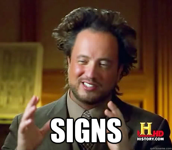 signs - Ancient Aliens
